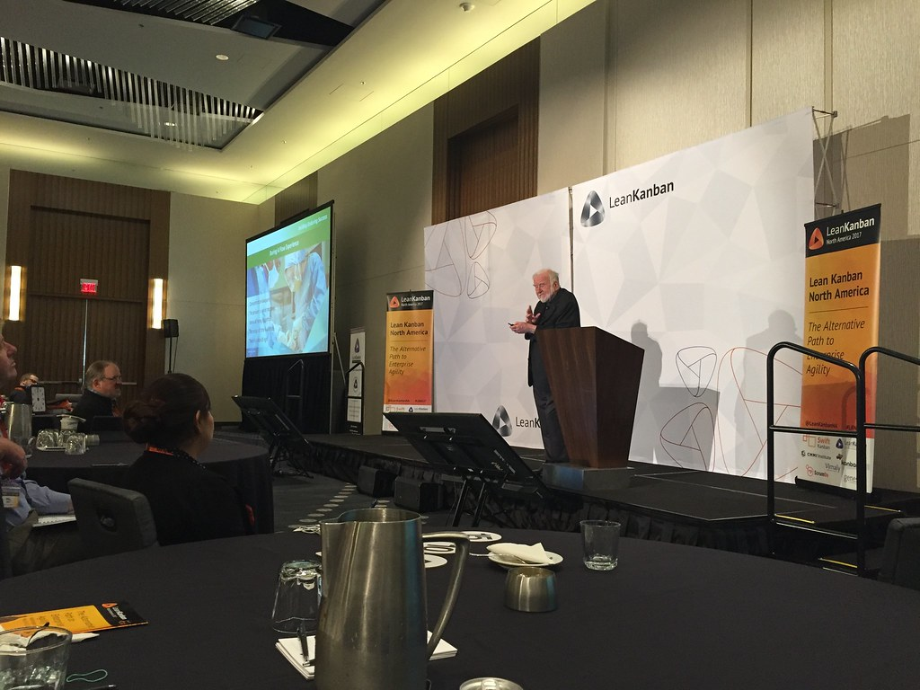 <p>Lean Kanban Conference North America 2017, Washington, D.C., - Keynote by Prof. Mihalyi Csikszentmihalyi, May 2017</p>