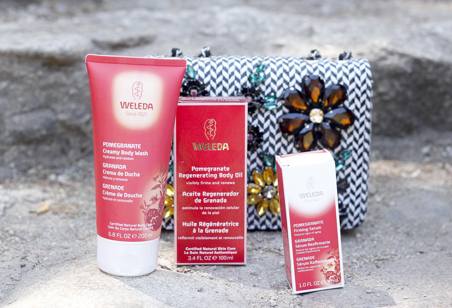 Weleda Granada belleza hidratante corporal cuidados verano beauty skin1