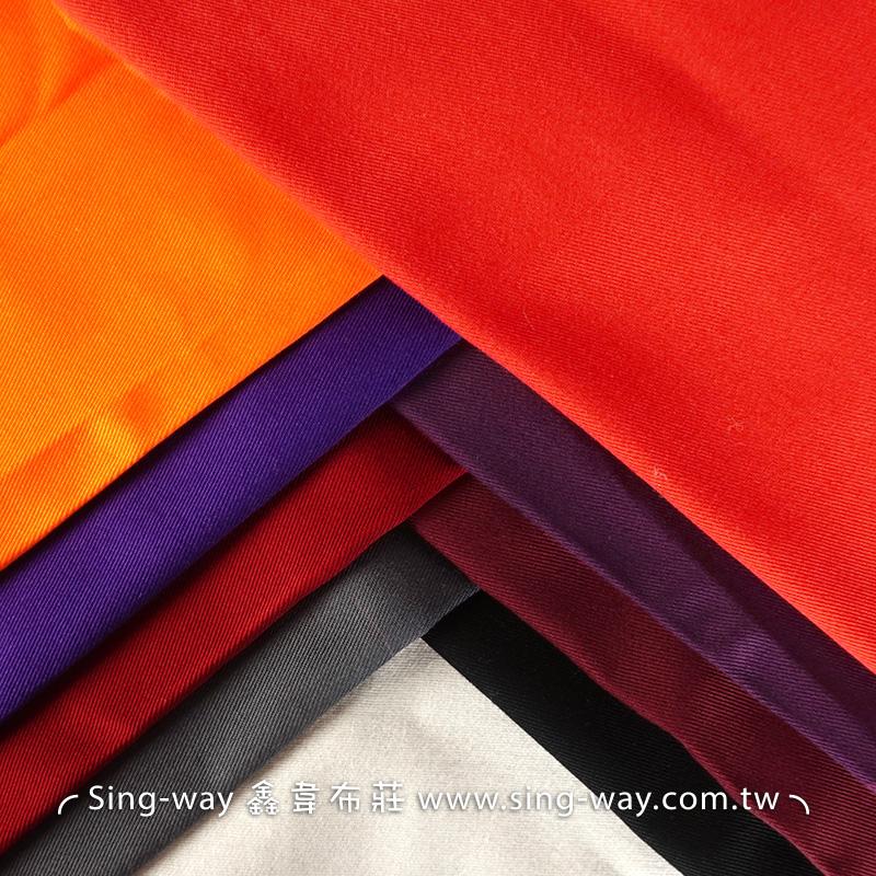 3C390012 紫紅黑色系 素面 T/C 棉布 斜紋布