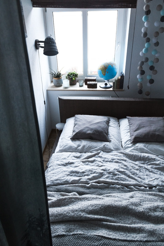 schlauchförmiges-Schlafzimmer-Vorhänge-Raumtrenner-Tagesdecken-Leinendecke