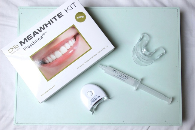 Un sourire ultra-bright avec le kit blanchiment des dents meawhite plastimea