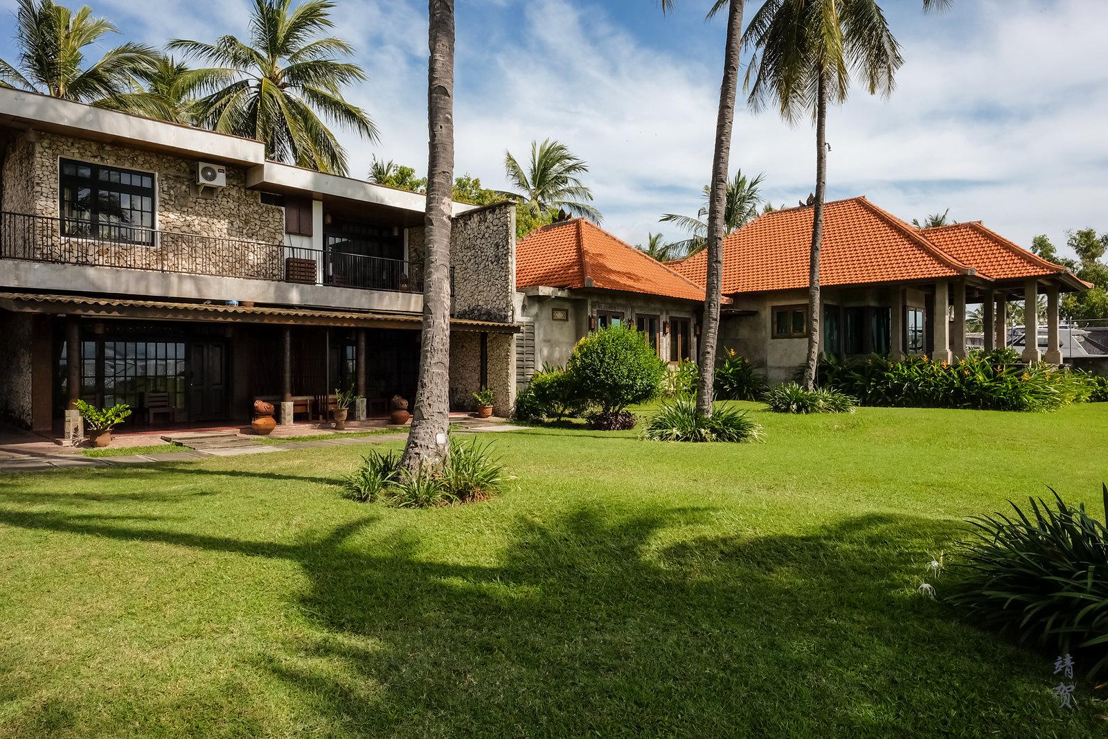 Villa in the resort
