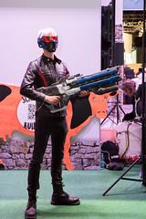 Besucher im Cosplay bei der Gamescom 2017