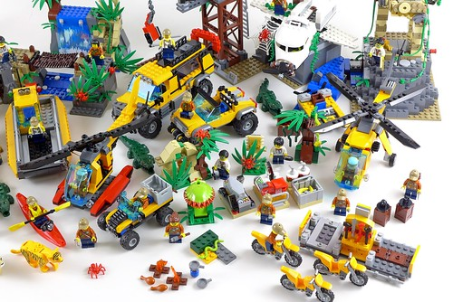 LEGO City Jungle All Sets 32