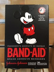 Mickey Mouse BAND-AIDS | Seen at Kaiser-Permanente | Kennesaw, GA