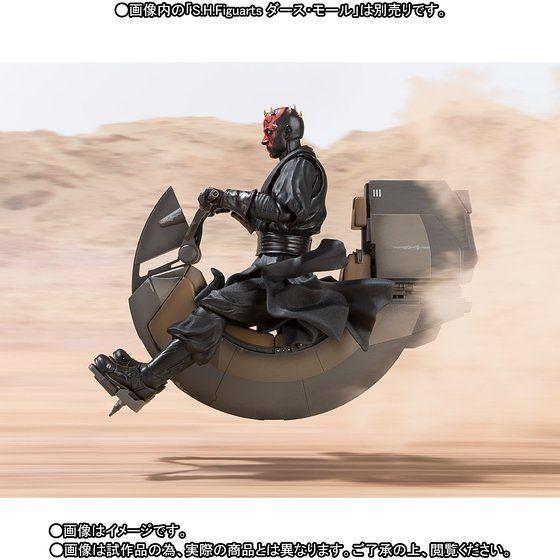 S.H.Figuarts 《星際大戰》達斯魔 的「Sith speeder 」!シス・スピーダー(プレバン)
