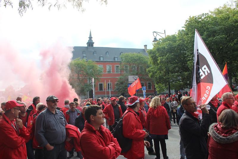 20 septembre 2017 - Manifestation contre la DPR (Namur)