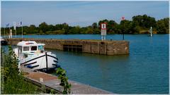 Hausbootferien 2017, St-Léger-sur-Dheune - Louhans, Ehemalige Schleuse bei Gigny-sur-Saône