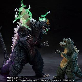 S.H.MonsterArts 哥吉拉vs太空哥吉拉(1994)【太空哥吉拉&小哥吉拉 Special Color Ver.】スペースゴジラ&リトルゴジラ Special Color Ver.
