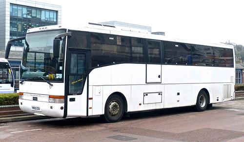 YR02 ZZU 'Community Transport for Town & County' Scania K121B4 / Van Hool Alize on 'Dennis Basford's railsroadsrunways.blogspot.co.uk'