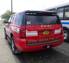 Stony Brook NY Fire Dept - Chief - Chevrolet Tahoe (2)