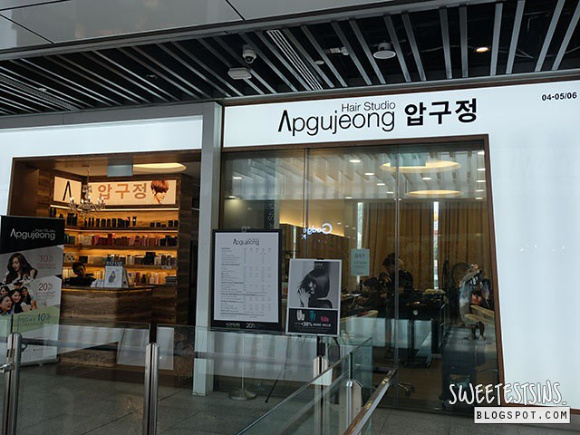 apgujeong hair studio jem