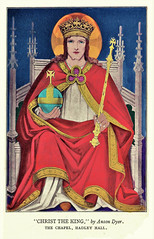 Anson Dyer painting of Christ the King