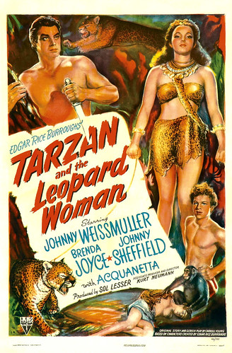 Tarzan and the Leopard Woman (1946, USA) - 01