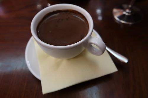 Klassische Heiße Schokolade (Variante: Zartbitter)