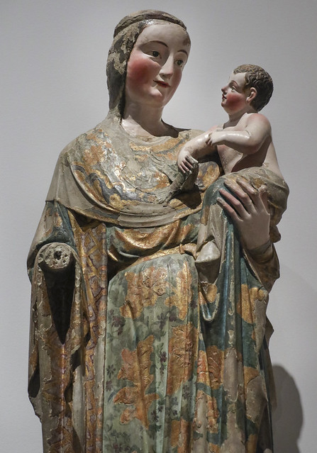 The Virgin and Child, French workshop active in Portugal, 1325-1350