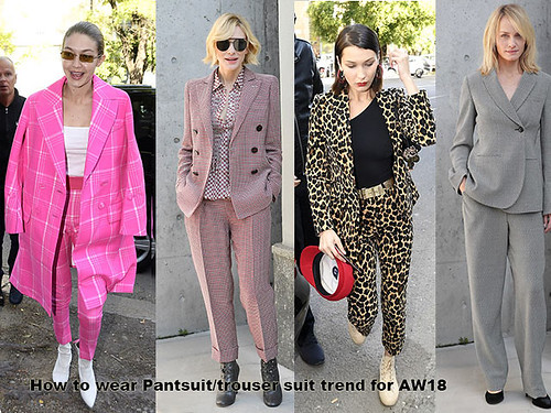 How-to-wear-Pantsuit-trouser-suit-trend-for-AW18