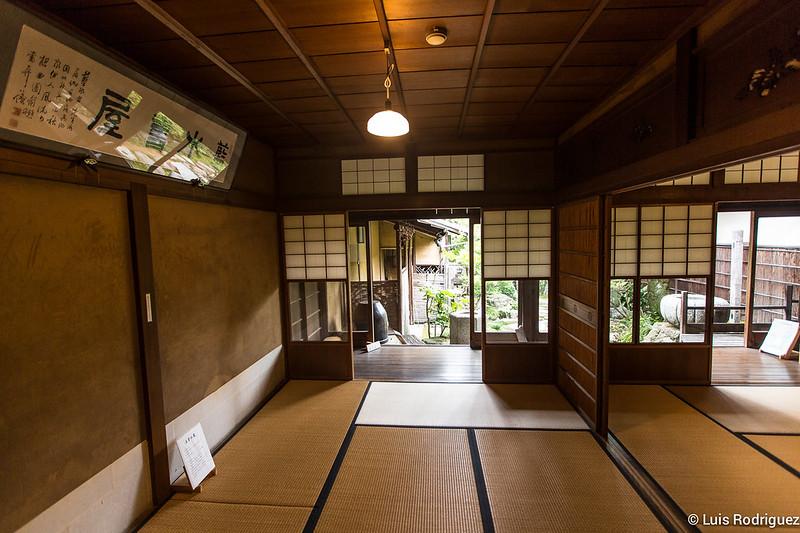 Interior de la residencia Imai