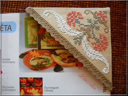 danybrod, bookmark, corner bookmark , cross stitch (3)