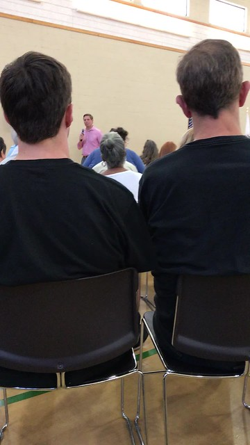 Congressman Eric Swalwell Town Hall Meeting 8/5/17