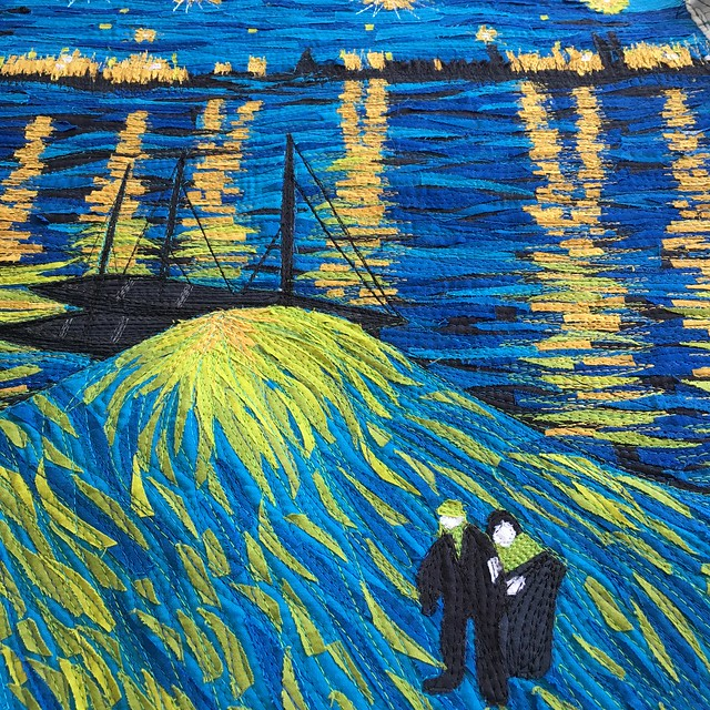 Van Gogh: people close up