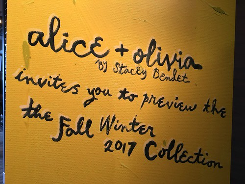 Alice+Olivia By Stacey Bendet Fall/Winter 2017/2018 Press Presentation 01