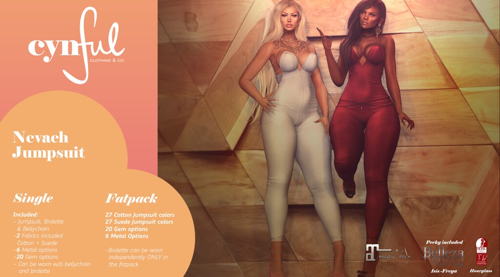 [Cynful] Neveah Jump Suit Ad - SecondLifeHub.com