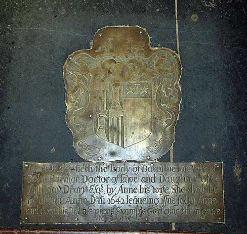 Dorothy Burman nee Drury 1642 (1)