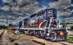 General Motors EMD GP9 four-axle diesel-electric locomotive, 1959 - Orangeville, Ontario
