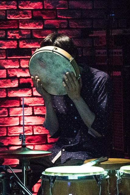 Satoko Fujii Quartet live at Cortez, Mito (Japan), 19 Aug 2017 -7S-00473