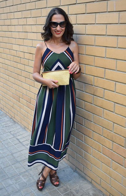 Vestido, rayas, Saint- Tropez, striped dress, Zaful, lowcost, trendy, summer, verano, ootd
