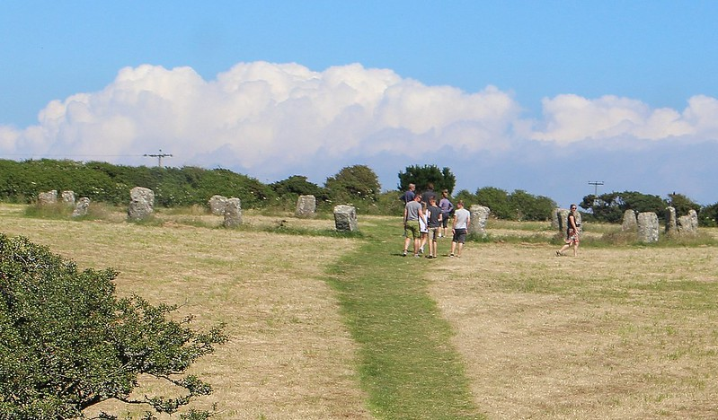 Stone circle, near Penzance
