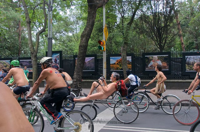 naturist 0034 WNBR World Naked Bike Ride, Mexico