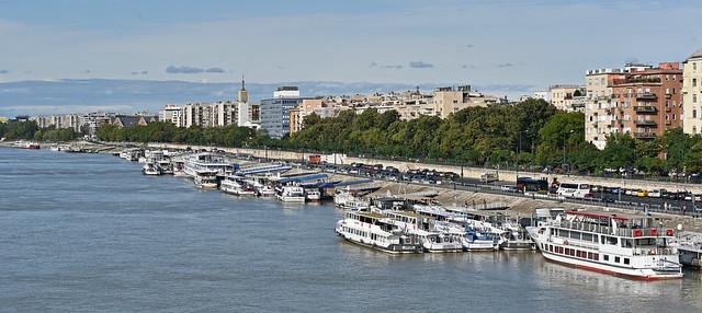 Along the Danube, Budapest, Hungary