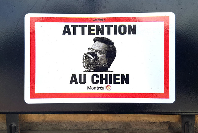Denis Coderre - Attention au chien #375mtl #mtl375
