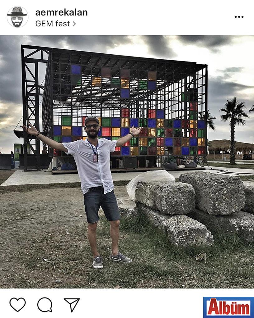 Maren Beach işletmecisi Emre Kalan, yakın arkadaşları ile birlikte Gürcistan'da düzenlenen Gem Fest'e katıldı.
