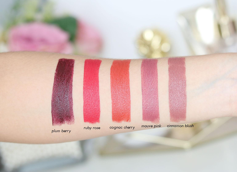 4 Muy Bien Bonita Cosmetics Lipsticks Review - Gen-zel She Sings Beauty
