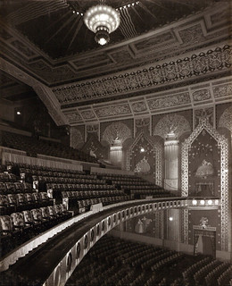 Looking across the Auditorium at the Paramount Theatre, Newcastle