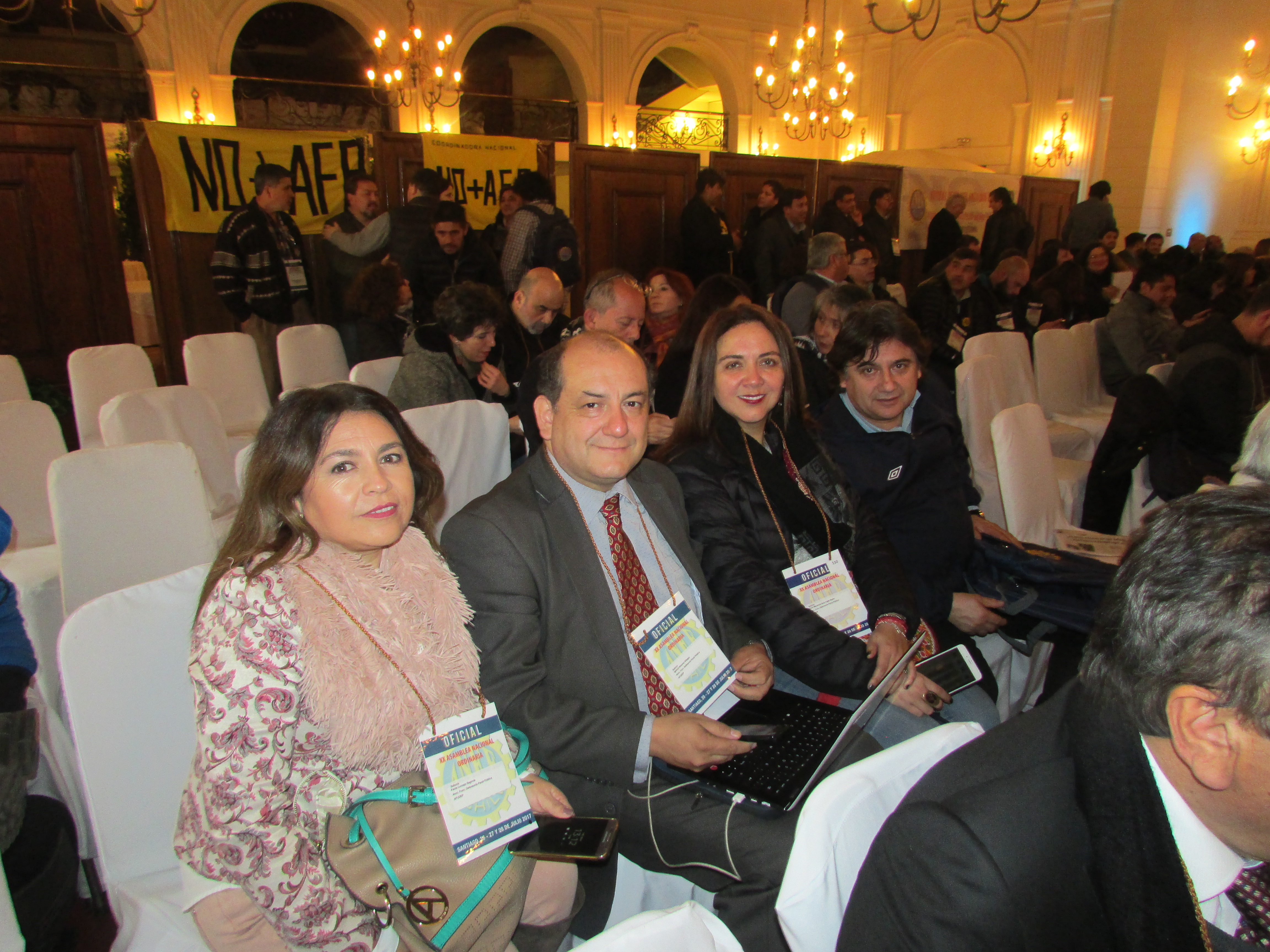 AFUDEP participa en Asamblea Ordinaria ANEF - 26 Julio 2017