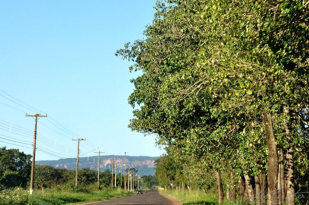 Morro do Paxixi: Bela Vista a caminho de Campo Grande