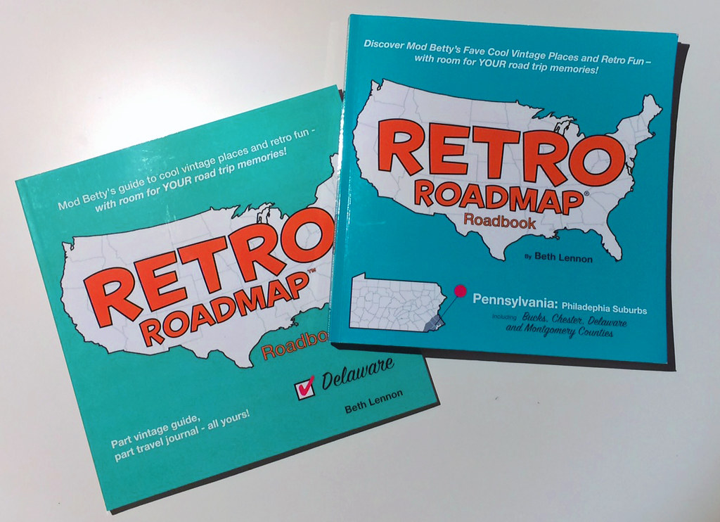 RRetro Roadmap Roadbooks 2017: Delaware & The Philadelphia Suburbs