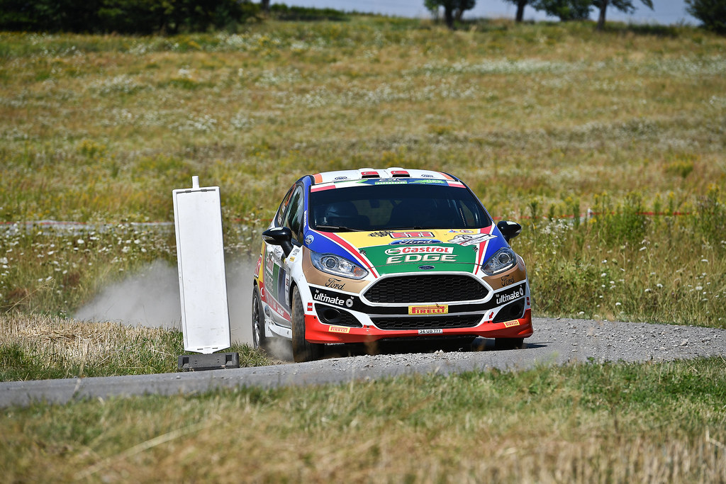 29 BANAZ Bugra (TUR) ERDENER Burak (TUR) Ford Fiesta R2 action during the 2017 European Rally Championship Rally Rzeszowski in Poland from August 4 to 6 - Photo Wilfried Marcon / DPPI