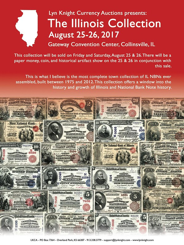 Lyn Knight E-Sylum ad 2017-08-13 Illinois Collection