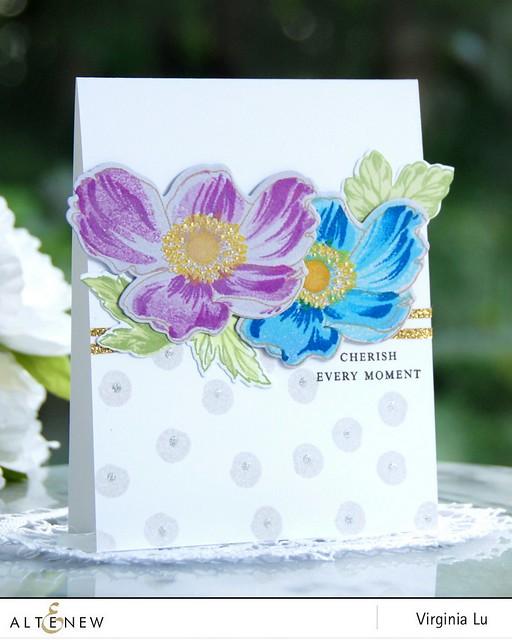 Altenew_Build-a Flower_Anemone_VirginiaLu#1