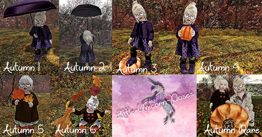 Little Unicon Poses Autumn Gacha - TeleportHub.com Live!