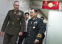 CJCS meets with USFK Commander and ROK CJCS
