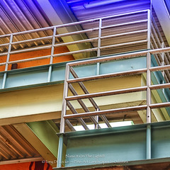 Multi-Colored Stairwells