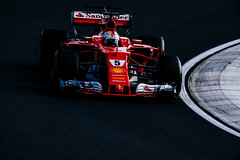 SEBASTIAN VETTEL - Ferrari SF70H / Hungarian Grand Prix 2017 F1