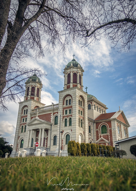 Sacred Heart Basilica, Timaru, Canon EOS 600D, Sigma 17-70mm f/2.8-4 DC Macro OS HSM