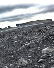 The world-famous #Reynisfjara shore, near the village #Vik in Myrdalur on I#celand's South Coast, is widely regarded as the most impressive black-sand beach in Iceland. Reynisfjara is a black pebble beach and features an amazing cliff of regular basalt co